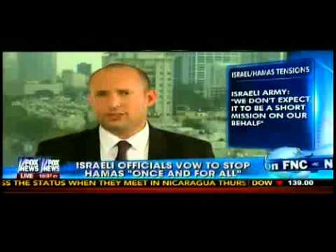 Bennett on FoxNews: Israel will defend it's people