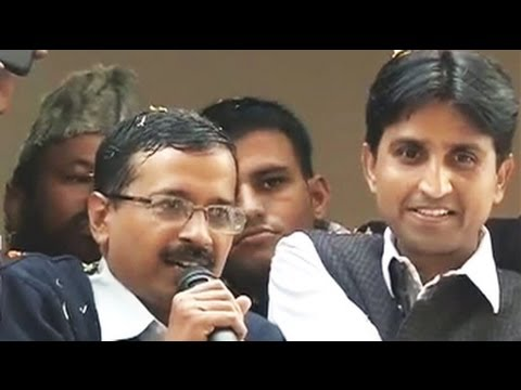 Show-stopper Kejriwal beats Sheila, AAP's big day in Delhi