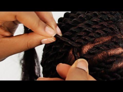 Hình ảnh trong video Natural hair How to Hair Styles: Locs, Cornrow ...