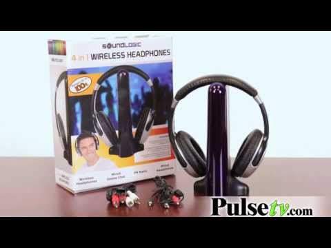 4 in 1 Wireless Headphones