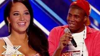 HILARIOUS Louis Armstrong Impression Has Judges In Hysterics!   X Factor Global