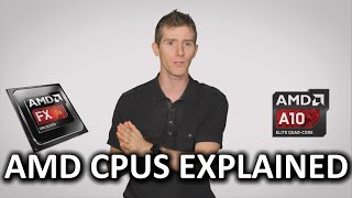History of AMD CPUs As Fast As Possible