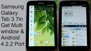 Samsung Galaxy Tab 3 7in Android 4.2.2 Multi Window Rom