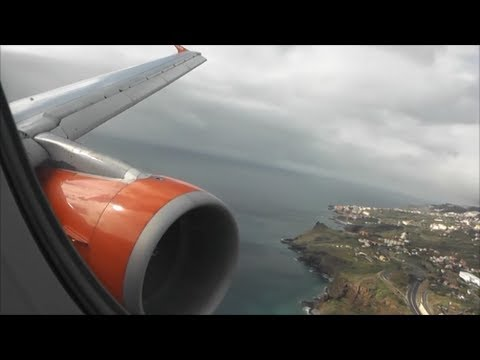 EasyJet Airbus A320-214 | London Gatwick to Madeira *Full Flight*