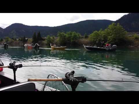 Drano Lake Fishing Salmon Fishing at Drano
