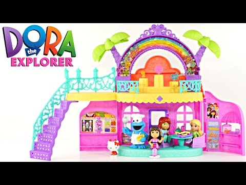 Dora and Friends Café Nickelodeon Music & Songs Cookie Monster Play Doh Bakery Hello Kitty Treats