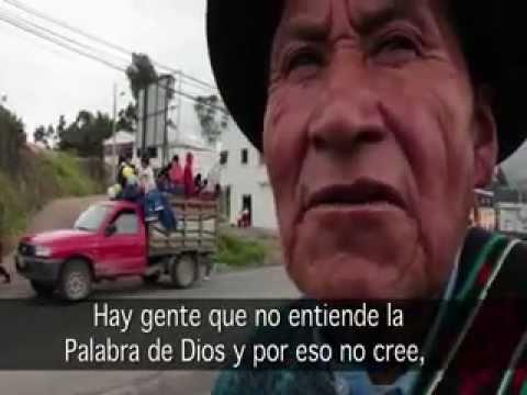 Primera Biblia en Quichua del Cañar del Ecuador