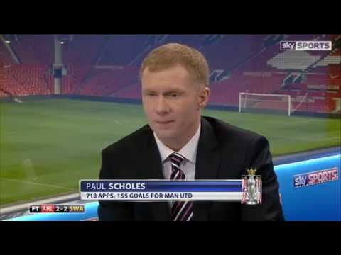 Arsenal have no leaders, according to Paul Scholes