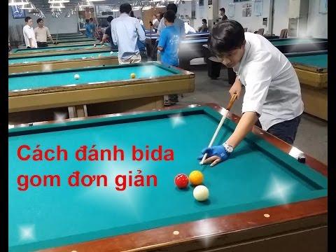 Cách đánh Bida gom đơn giản - Bida4u.vn