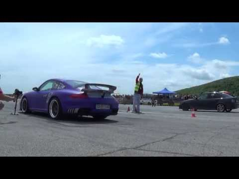 Porsche GT2 vs BMW 325 Turbo