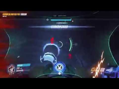 D.va and Sombra combo Overwatch Highlights