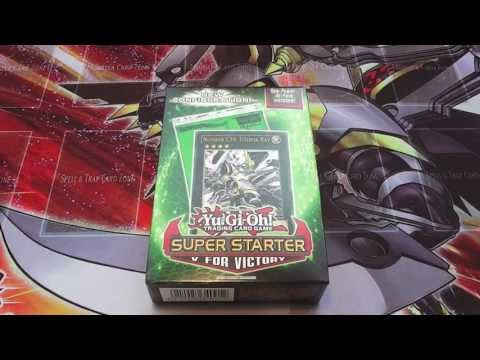 Yugioh Super Starter: V for Victory Deck Opening English