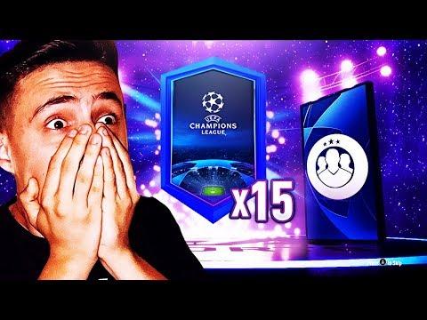 KÉT WALKOUTOT NYITOTTAM!! | FIFA 19 - CHAMPIONS LEAGUE PACK OPENING