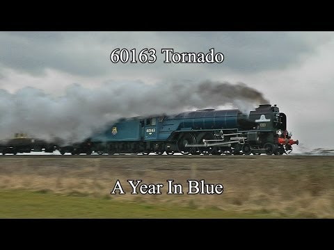 60163 Tornado: A Year In Blue
