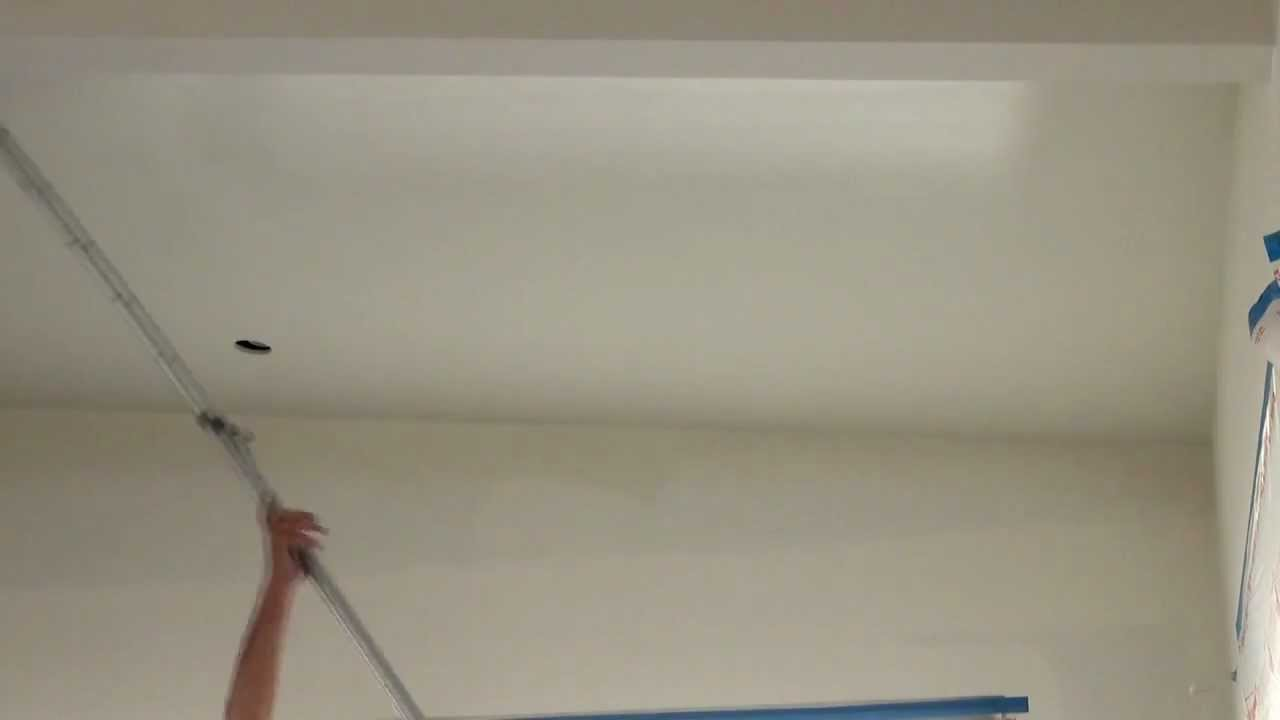How to spray paint a ceiling using an airless sprayer then for Top rated ceiling paint