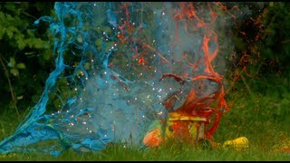 Paint Explosions: The Slow Mo Guys