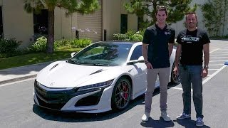 Quick Drive: 2017 Acura NSX (w/ Alexander Rossi) – Daily Fix Free Episode!. MotorTrend.