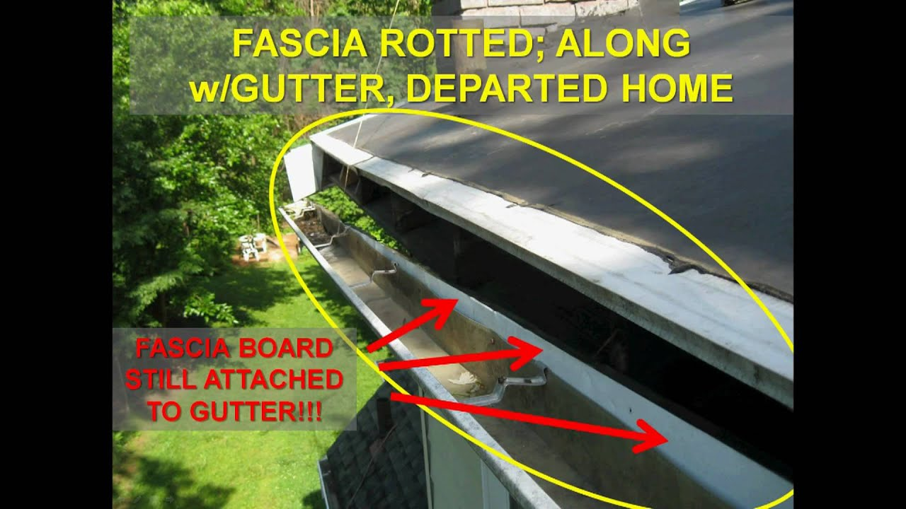 How Soffits And Fascia Are Rotted And Ruined Promaster