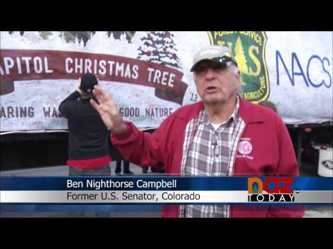 The Capitol Christmas Tree's stop in Flagstaff