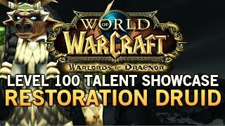 WoW:Warlords Of Draenor Level 100 Restoration Druid Talent