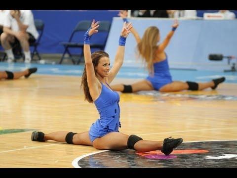 Litewskie cheerleaderki dają czadu!