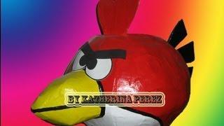 Como Hacer Una Pinata Angry Bird (Angry Bird Pinata)