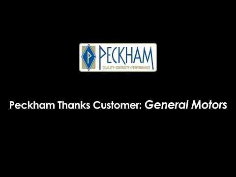 Peckham Customer Appreciation: General Motors