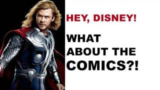 The Avengers 2012 - a trailer for comics? Does Disney help Marvel?