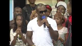 Jim Iyke interview on Str8 Up Live in Kenya