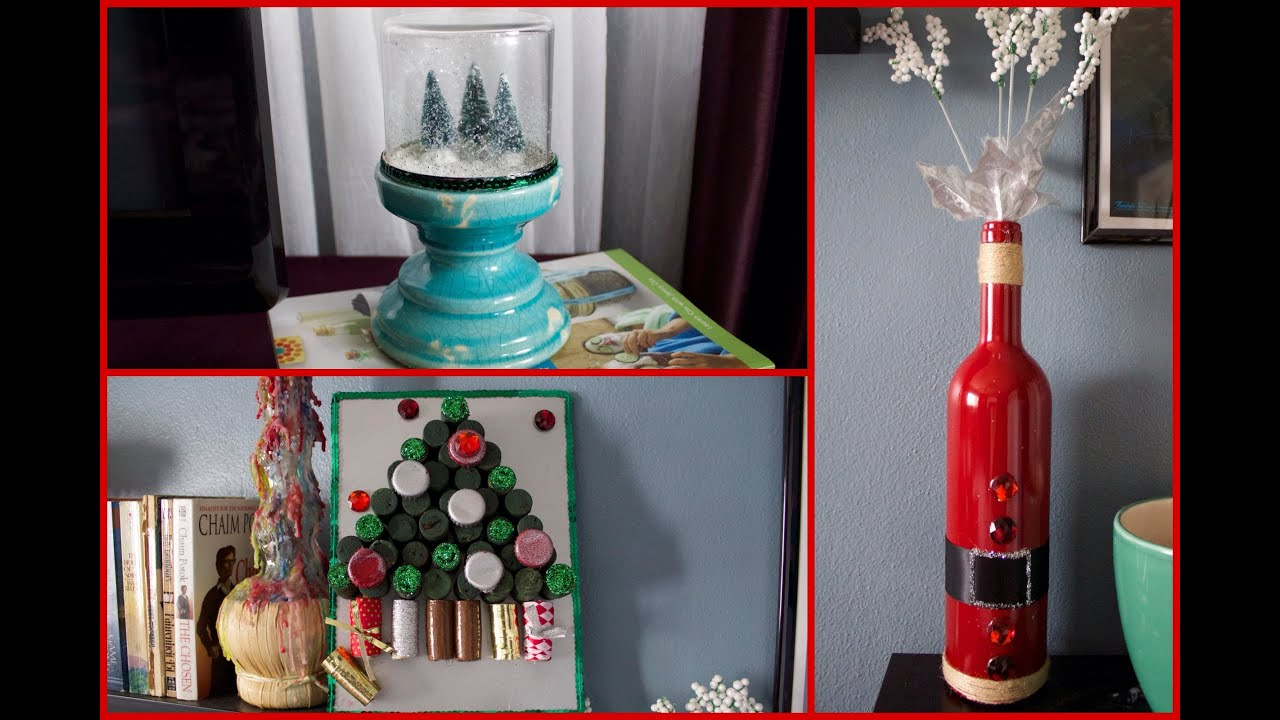 6 Diy Christmas Decorations Youtube