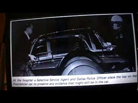 JFK Secret Service Agent Sam Kinney, driver of follow-up car in Tampa, Dallas, etc