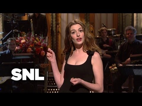 Anne Hathaway Monologue: Nudity - Saturday Night Live