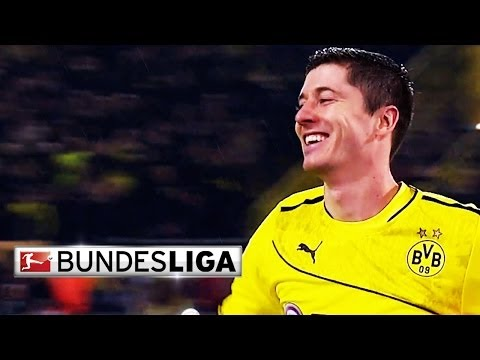 Robert Lewandowski - Top Goalscorer in First Half of 2013/14 Season