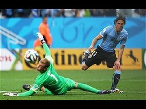 Luis Suarez win GOAL Uruguay 2 England 1  - 2014 FIFA World Cup