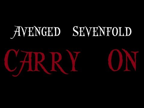 Carry On- Avenged Sevenfold (Lyrics on Screen) [HD]
