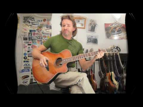 Acoustic Guitar With Alternate Tuning/Godin - Weber Electric Guitar Track