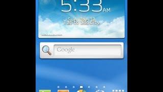 How To Install Jelly Bean 4.2.1 TouchWiz 5 On Galaxy Mini