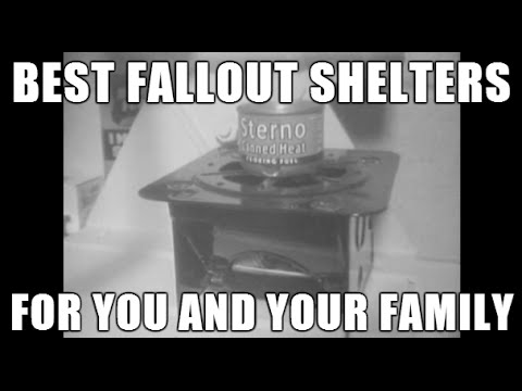 Best Nuclear Fallout Shelters for your Family