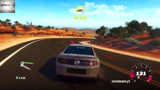 [Forza Horizon] Drift Red Rock En Ford Shelby GT500 De