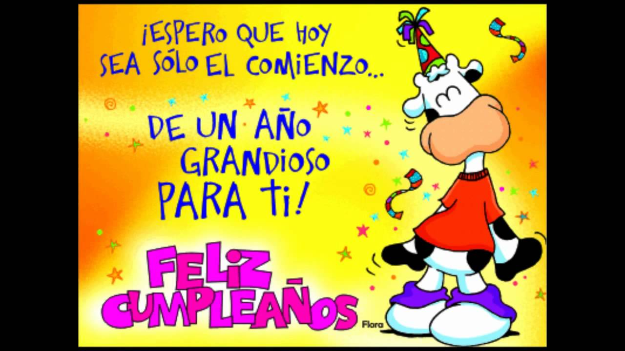 feliz cumpleano hermanita linda YouTube