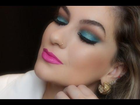 Maquiagem colorida fácil por Alice Salazar