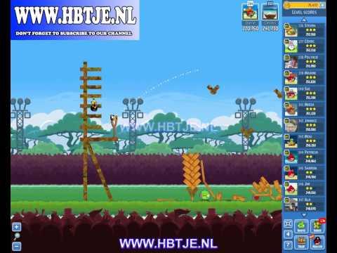 Angry Birds Friends Tournament Level 1 Week 121 (tournament 1) no power-ups