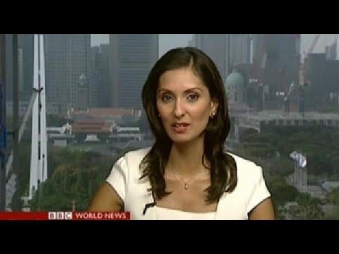 BBC Babita Sharma in Asia Business Report