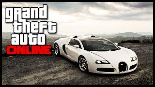 "GTA 5 Online How To Get & Insure The Adder ""Bugatti"" For"