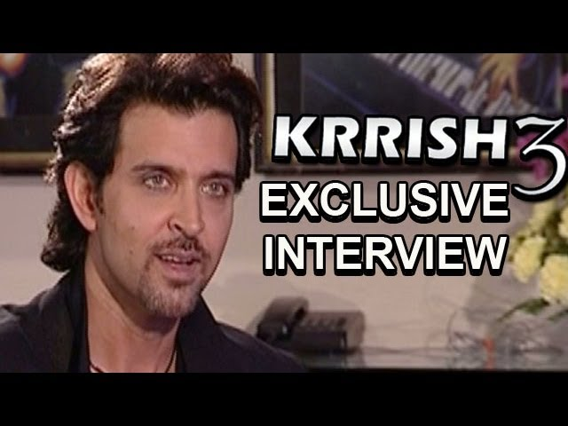 Krrish 3 - Hrithik Roshan talks about Priyanka Chopra, Kangna Ranaut, Shahrukh Khan & more