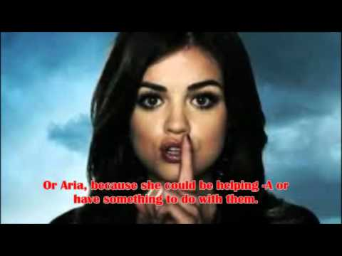 "Pretty Little Liars-My ""A"" Theory: Alison, Aria, Jenna,"