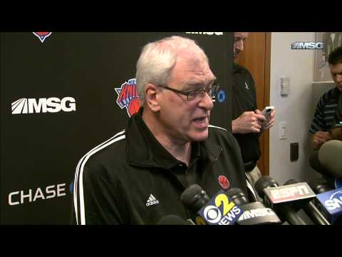 Phil Jackson On Steve Kerr As Knicks Head Coaching Candidate