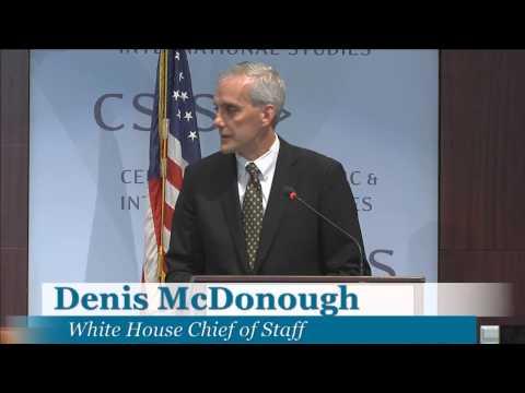 TFI@10: Midday Keynote featuring Denis McDonough