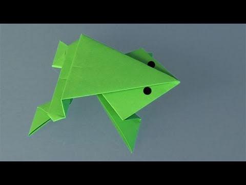 Comment faire une grenouille en papier ?