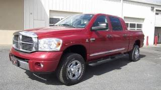 2007 Dodge Ram 2500 Laramie Cummins Mega Cab Start Up, Exhaust, and In Depth Tour videos